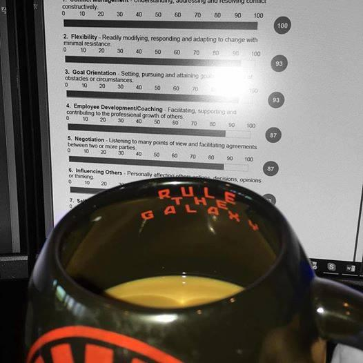 Rule the Galaxy Coffee Mug